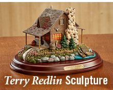Terry Redlin Sculpture