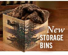 New Storage Bins