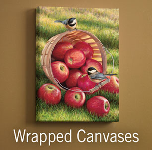 Wrapped Canvases