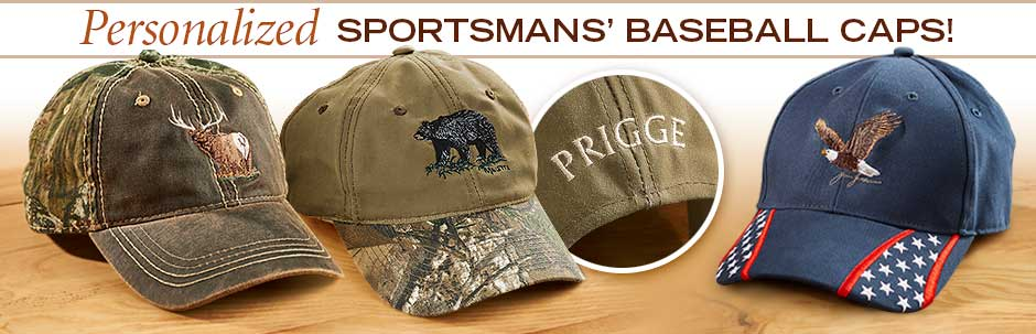 Personalized Camo Hats