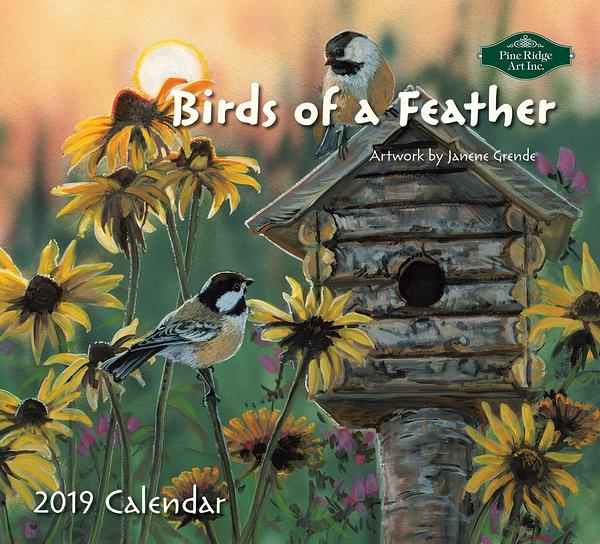 4619092401: Birds of a Feather 2019 Calendar