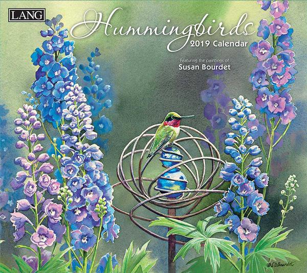 4523535910: Hummingbirds  2019 Calendar