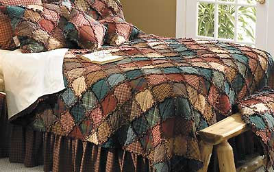 46990955SS:Patchwork Bedding Collection