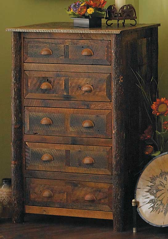 5262051503:Barnwood Chest of Drawers