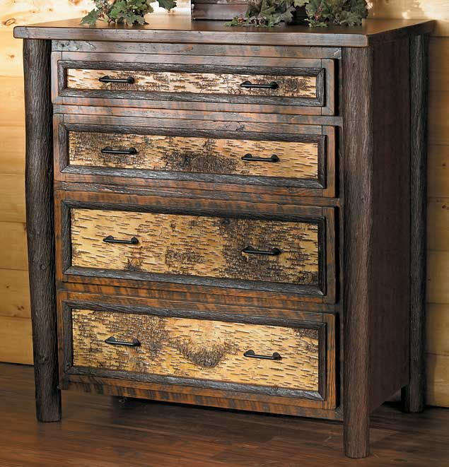 5637062504: Birchmont Four Drawer Dresser