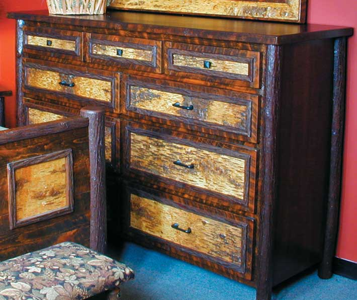 5637062506: Birchmont Nine Drawer Dresser