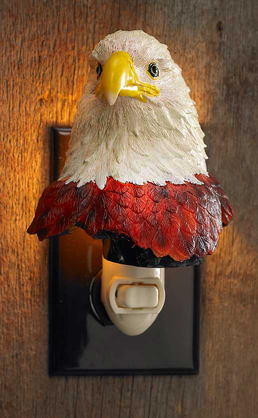 5598543032: Bald Eagle Night Light
