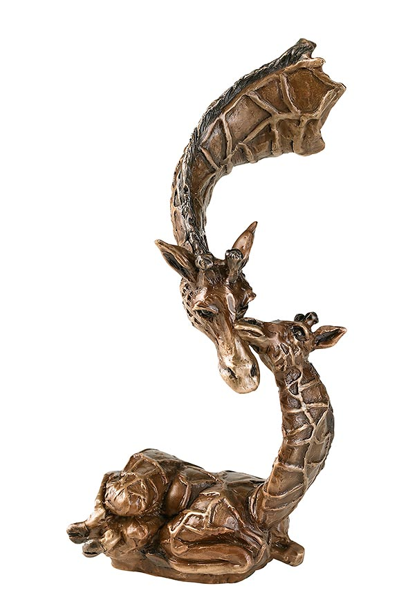 6409450001:&nbsp;<i>Little One Giraffe;&nbsp;</i> Sculpture