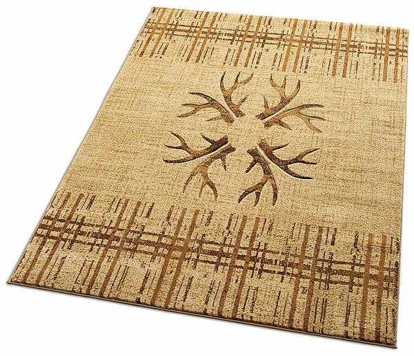 48850265SS: Native Antler Area Rug Collection