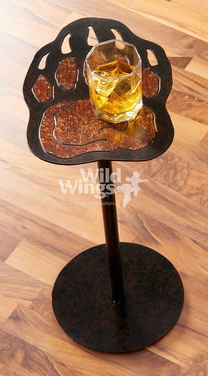 5177701575: Bear Paw Side Table