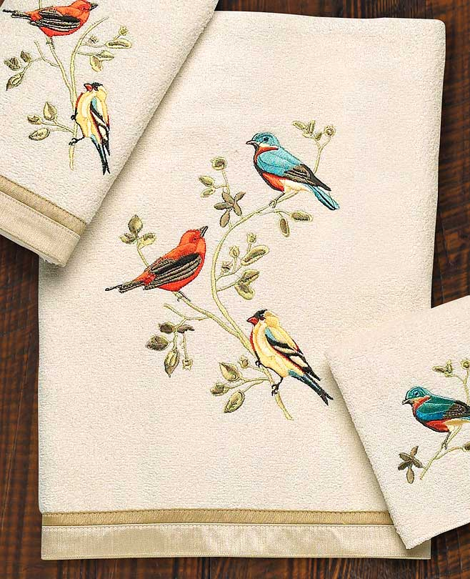 4060254912IG: Gilded Birds Towel Collection