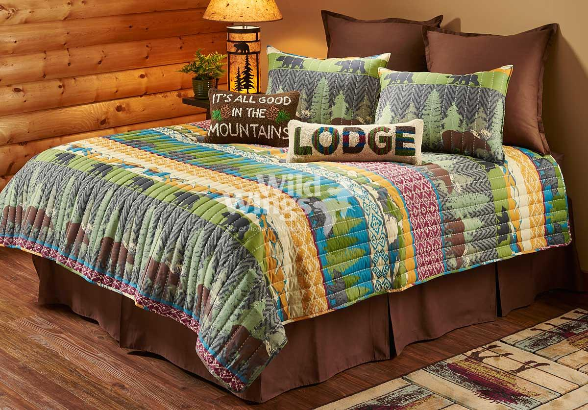 44000575SS: Black Bear Lodge Bedding Collection