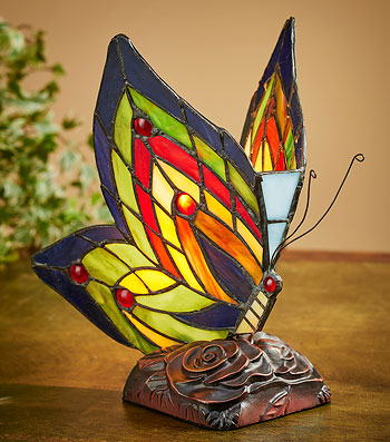 5607078501: Butterfly Accent Lamp