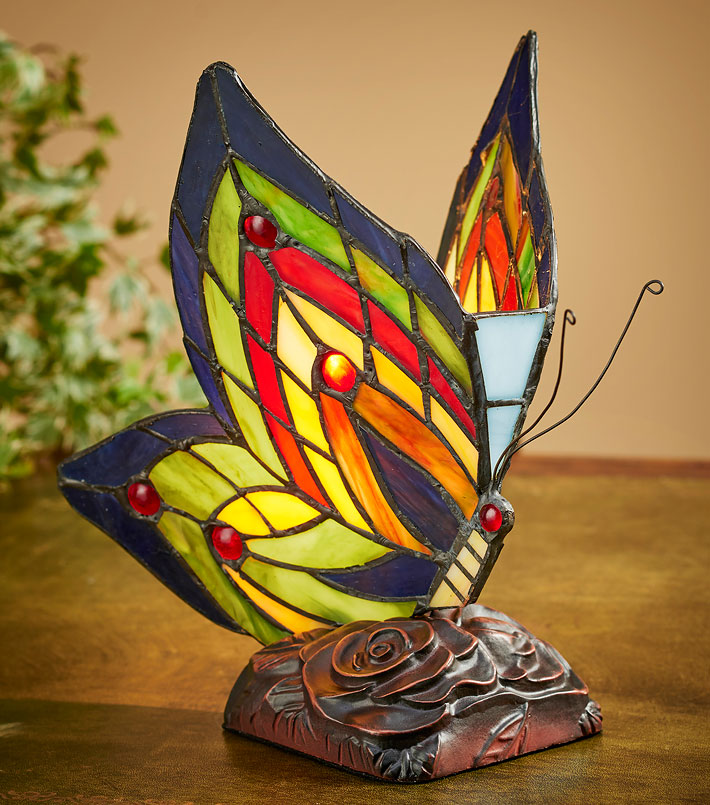 5607078501:Butterfly Accent Lamp