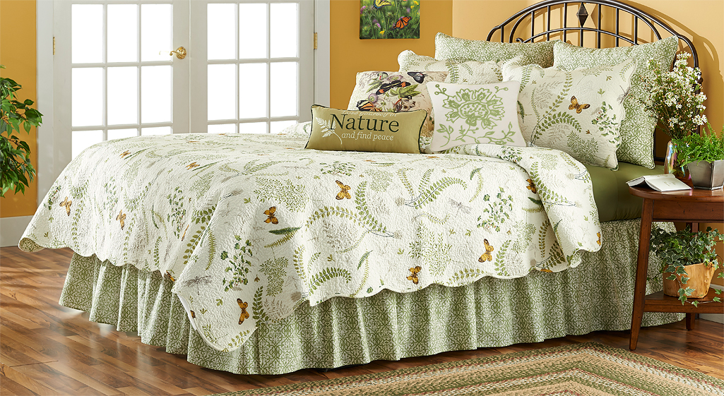 4143018501IG: Butterfly Botanical Bedding Collection
