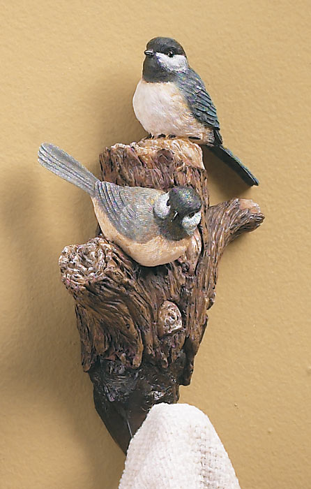 5209291537: Chickadee Wall Hook