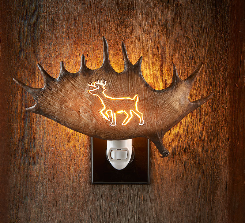 5598530065: Deer Antler Night Light
