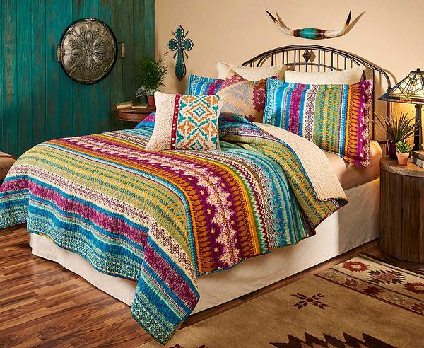 44007182DD: Desert Oasis Bedding Set