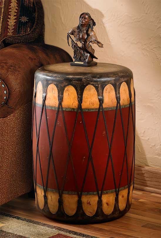 5085158201: Drum Side Table