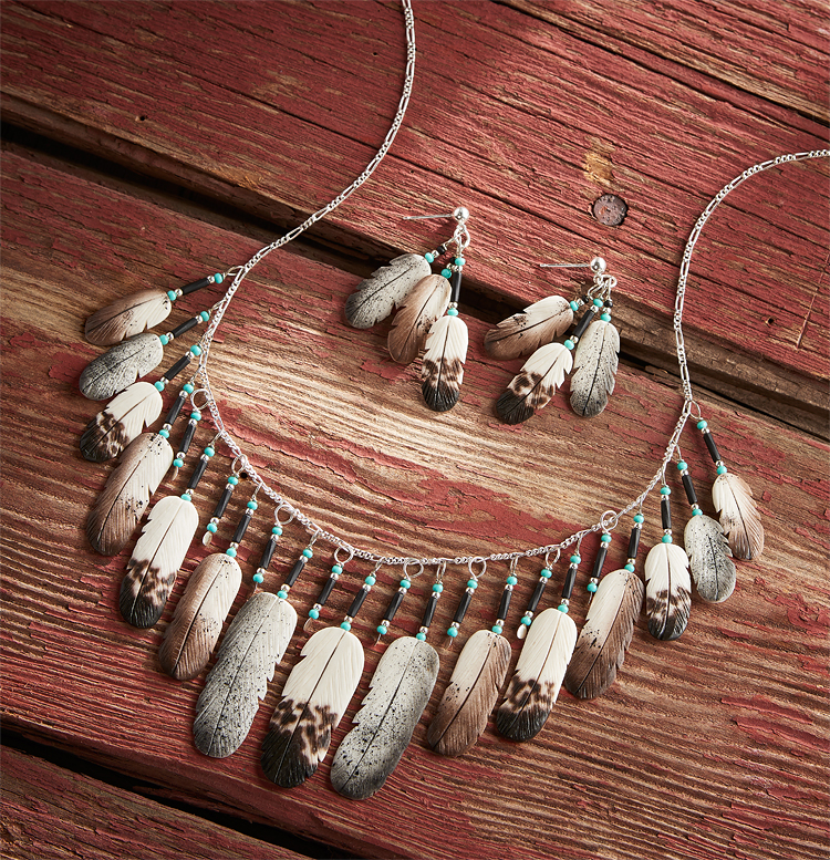 78621632DD:Eagle Feather Jewelry Collection