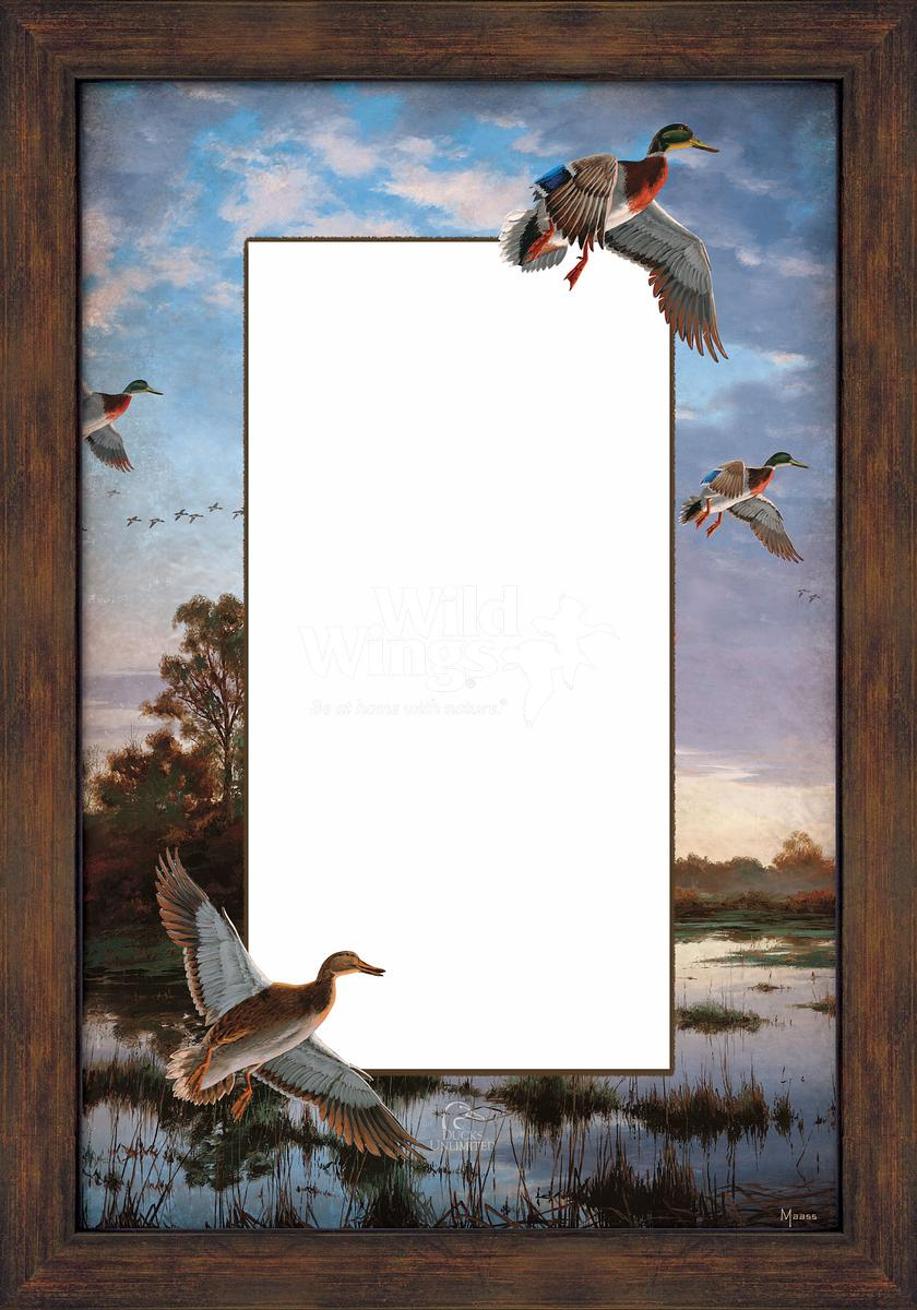 5386493512:&nbsp;<i>Evening Flight;&nbsp;</i> Large Decorative Mirror