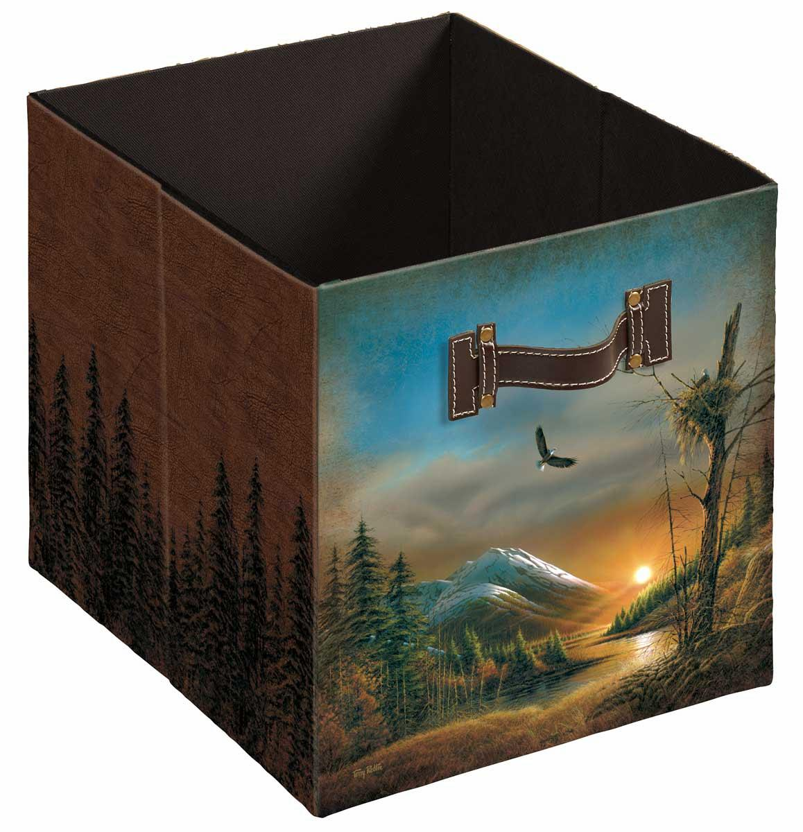 4084003302: Flying Free Folding Storage Bin