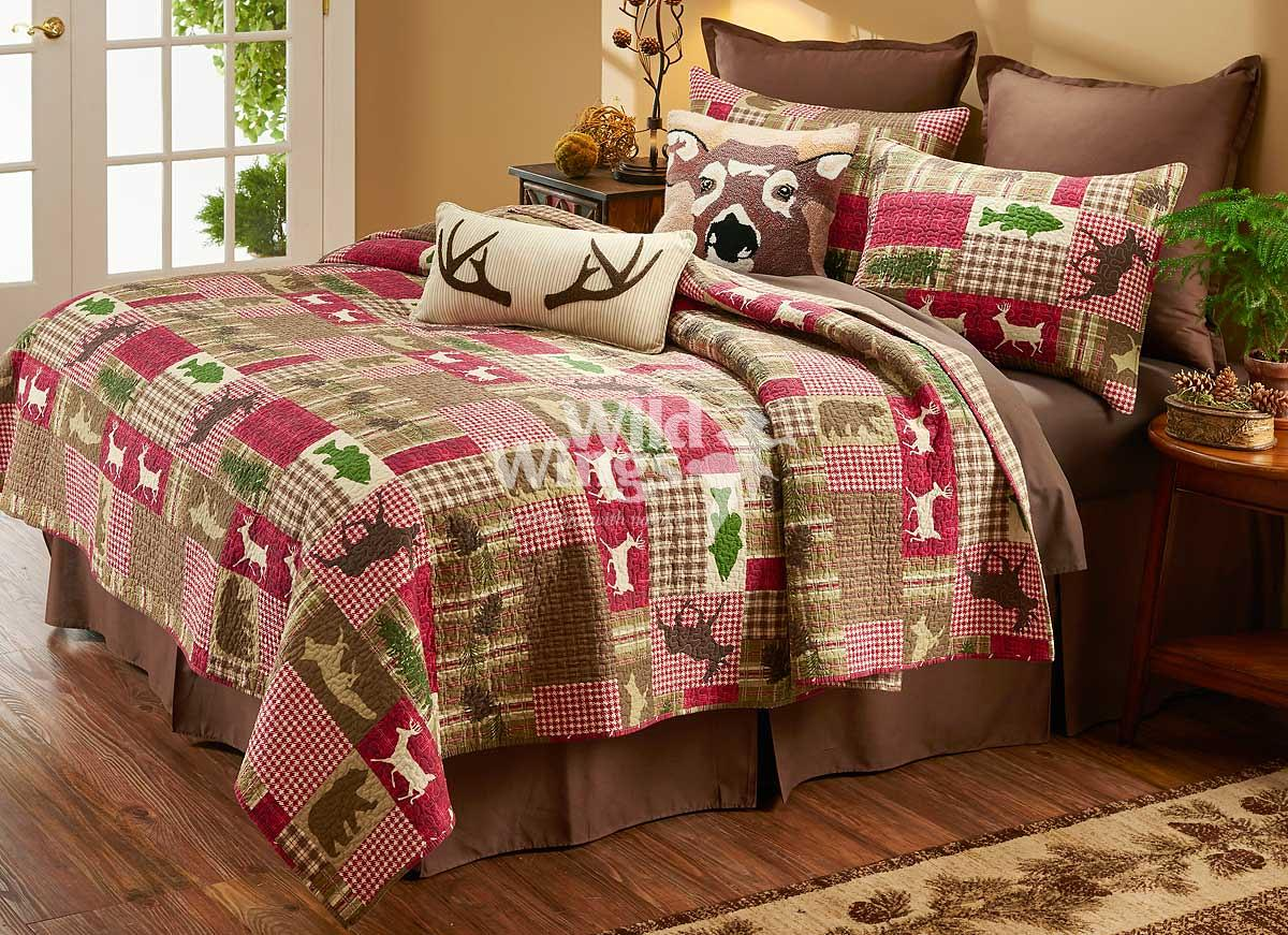 41432877SS: Plaid Happy Camper Bedding Collection