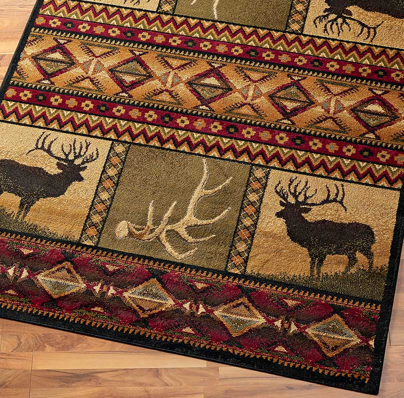 48853166SS: Hunter's Vision Area Rug Collection