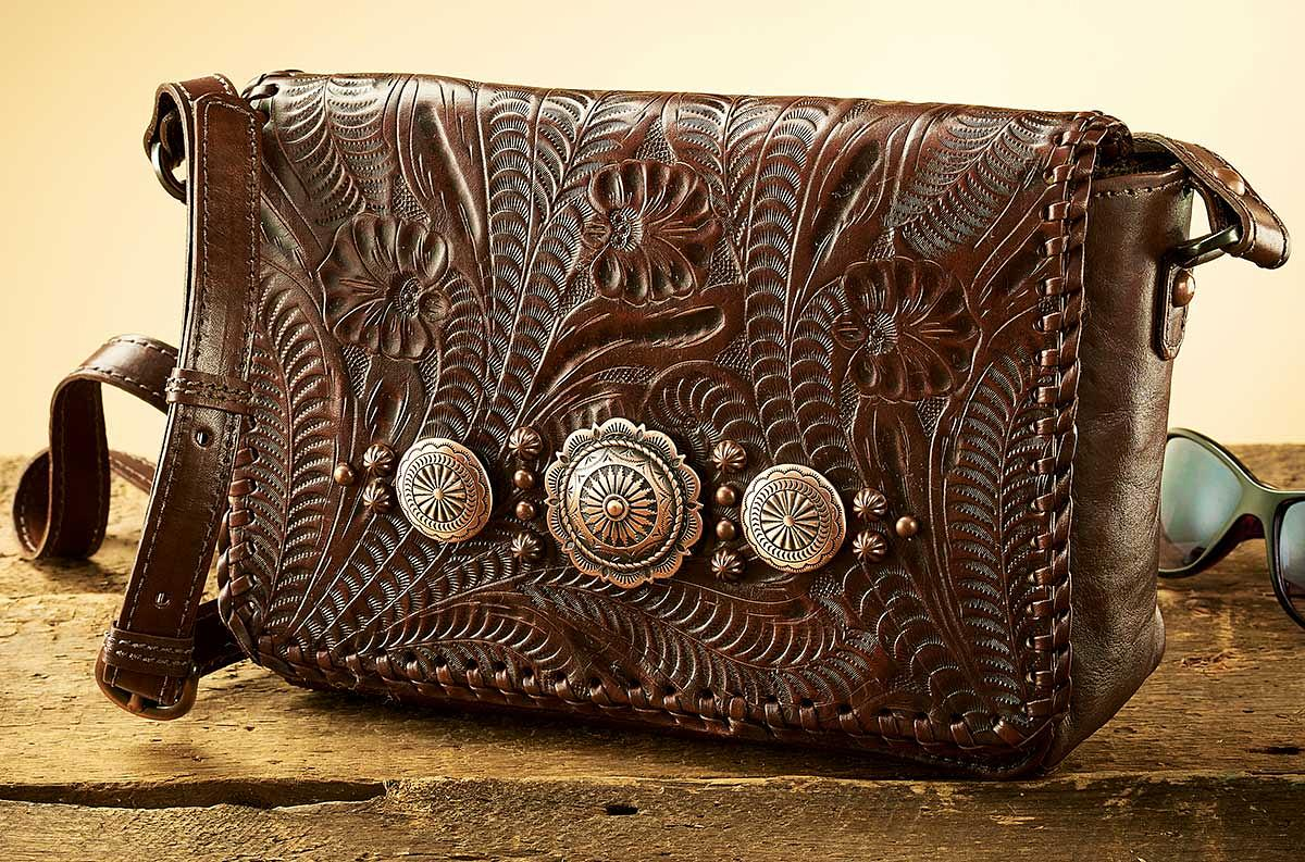 4030442501: Sophisticated Southwestern Handbag