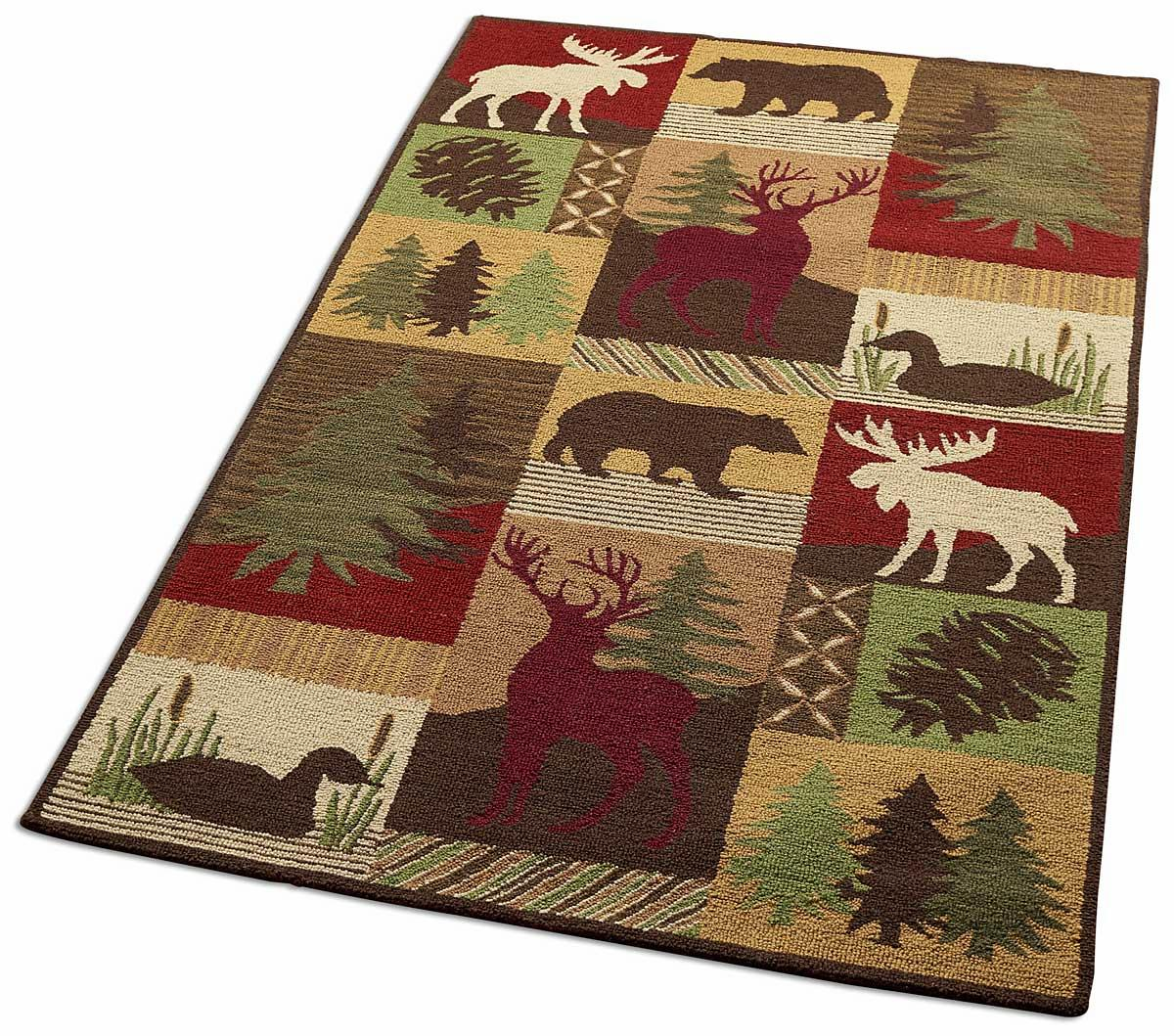 47104677SS:Be Still Cabin Area Rug Collection