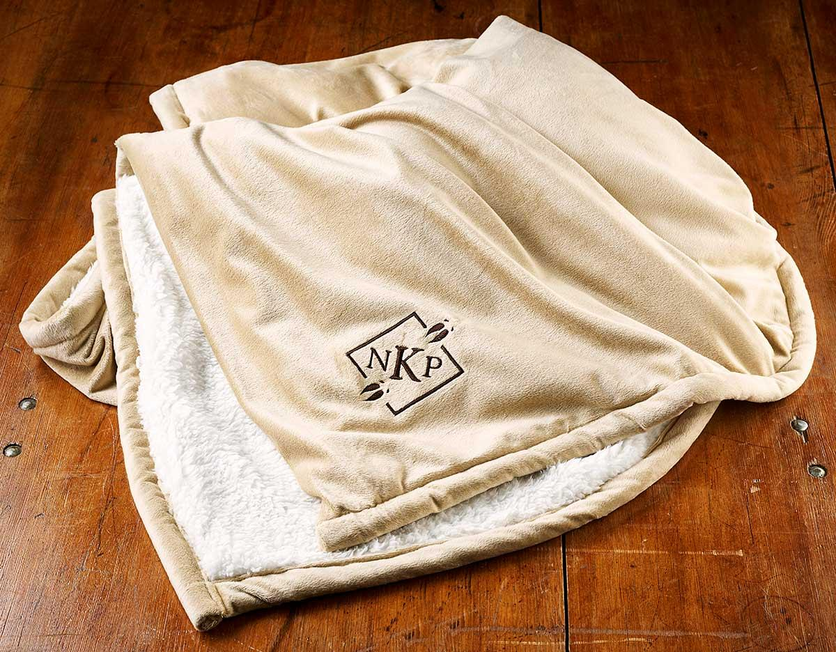 457305CCDD:Making Tracks Personalized Throw Blanket