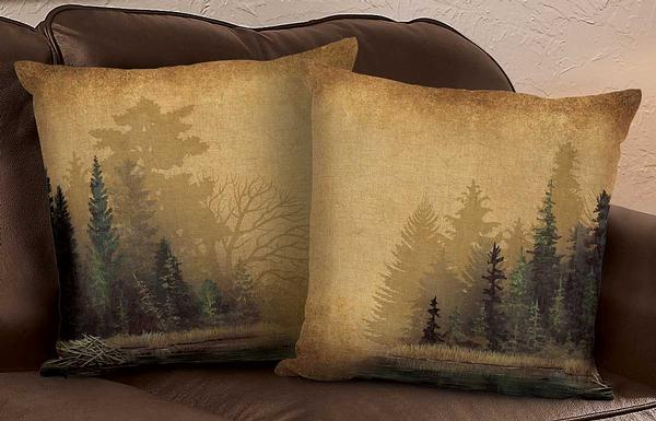 4084622007IG:Misty Forest Decorative Pillow Collection
