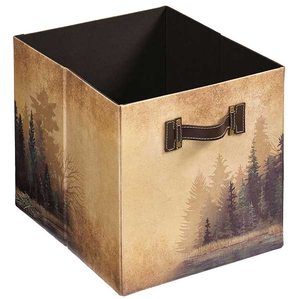 4084003003: Misty Forest Folding Storage Bin