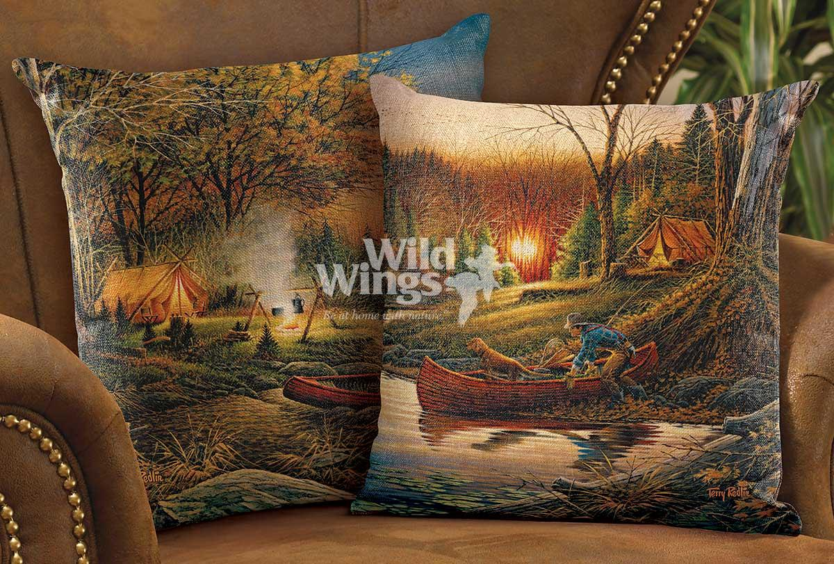 40846223DD: Morning and Evening Solitude Decorative Pillow Collection