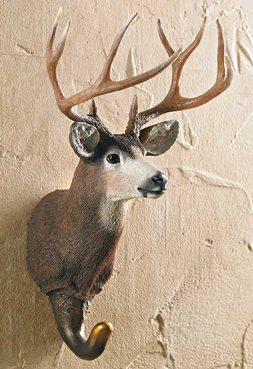 5598862574: Mule Deer Wall Hook