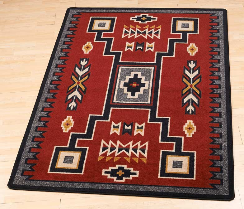 40825782SS:Old Crow Blanket Area Rug