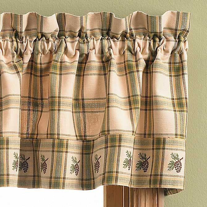 56626291DD: Pine Lodge Drapes (Set of 2)