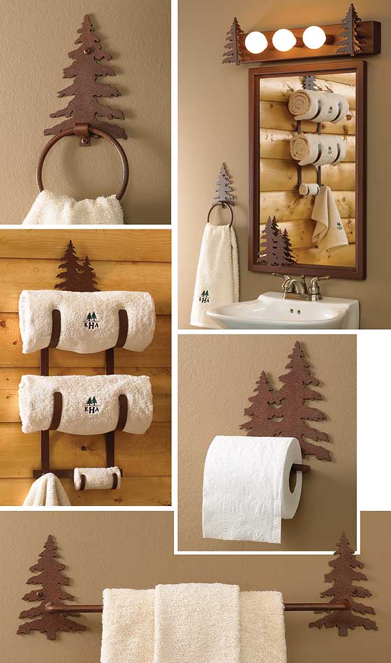 5179755101IG: Pine Tree Bath Accessories
