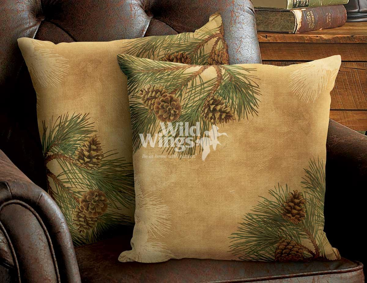 4084622006IG: Pinecone Decorative Pillow Collection