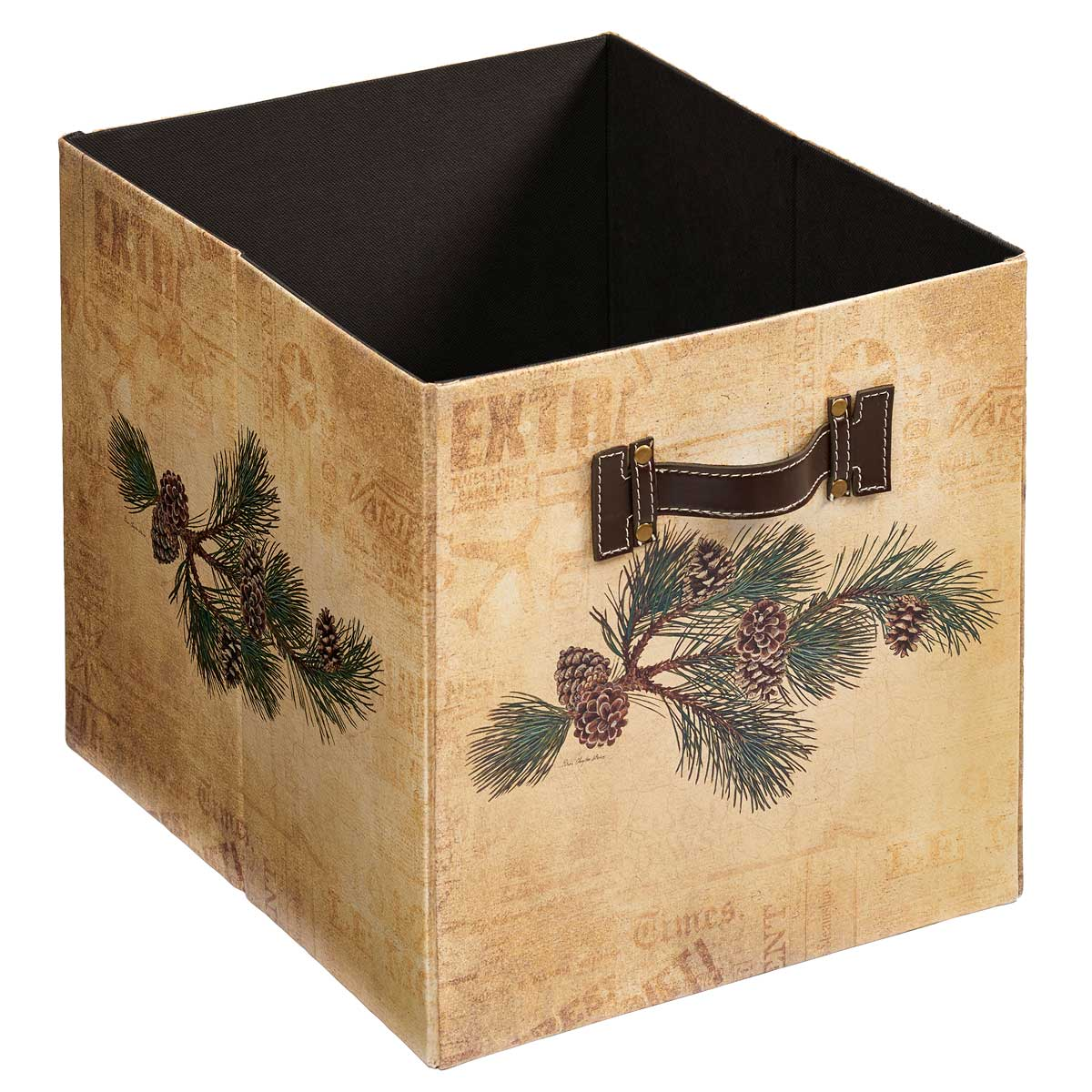 4084003005: Pinecone Folding Storage Bin