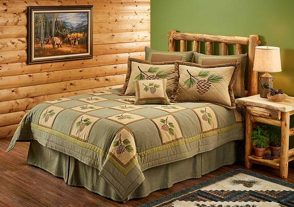 46626191SS: Pinecone Bedding Collection