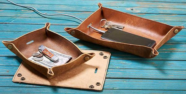 4480661503IG: Reclaimed Leather Tray Collection