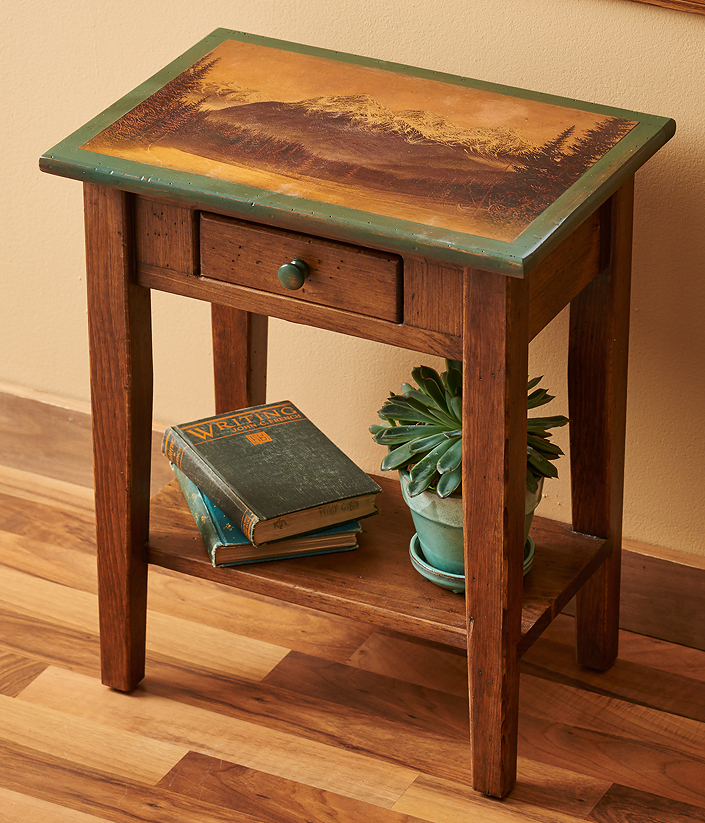 5946671589:Rocky Mountain Side Table