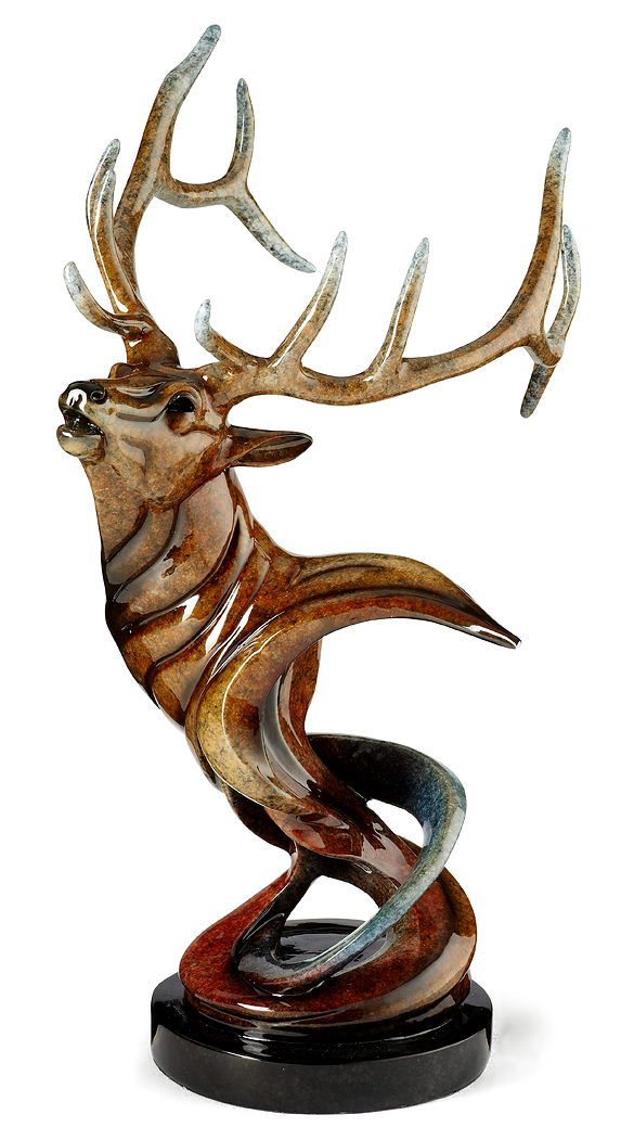 6567425966:&nbsp;<i>Voice&mdash;Elk;&nbsp;</i> Imago Sculpture