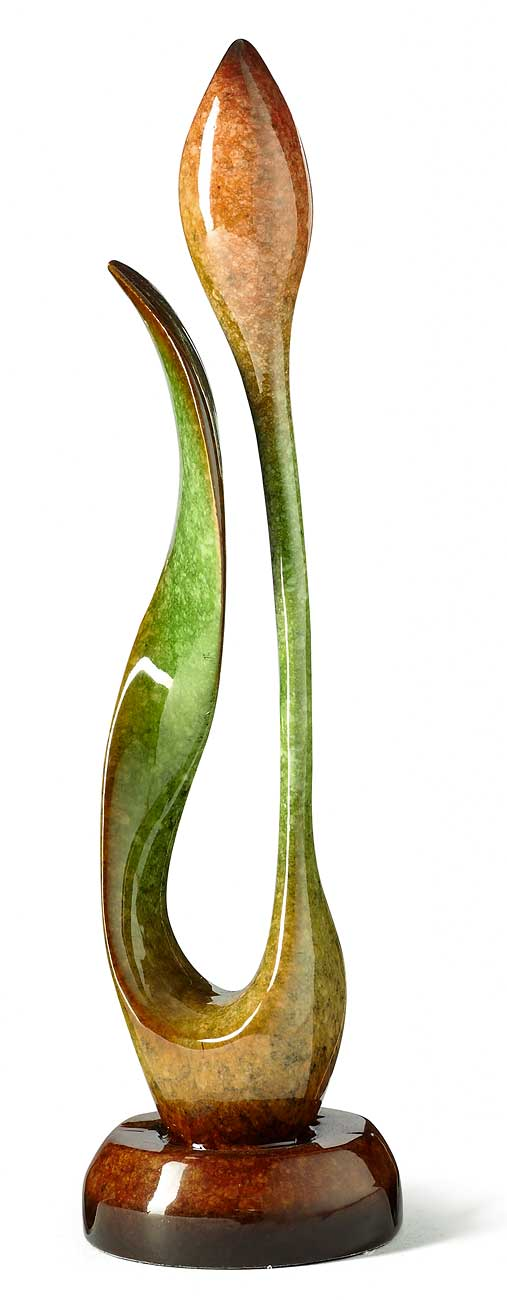 6567820790:&nbsp;<i>First Blossom&mdash;Tulip;&nbsp;</i> Imago Sculpture