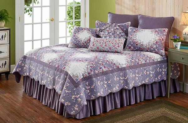 46997090SS: Floral Lilac Bedding Collection
