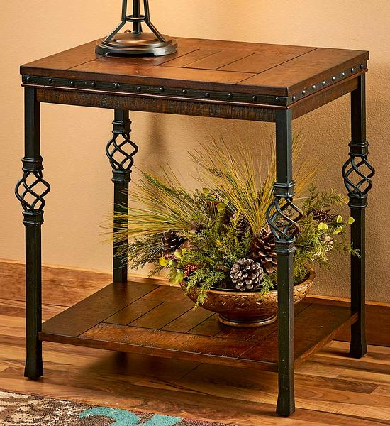 5802705001: Medieval Chairside Table