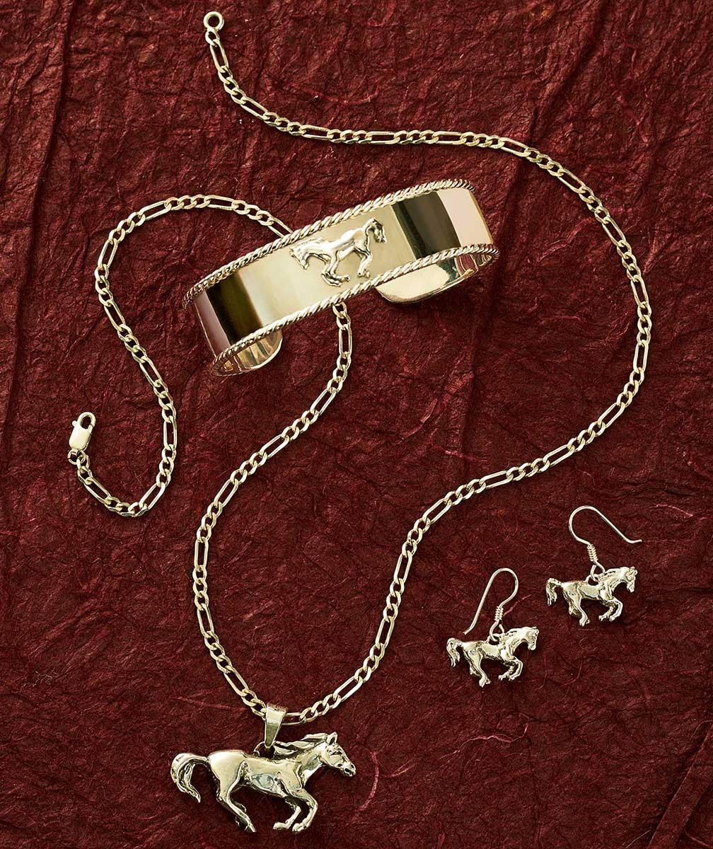 72830800DD: Galloping Horse Jewelry Collection