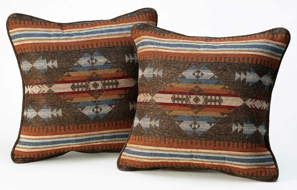 5569709002: Sioux Trail Saddle Pillows (Set of 2)