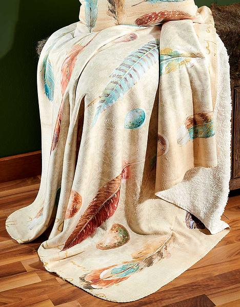 4549727701: Feathered Nest Throw Blanket